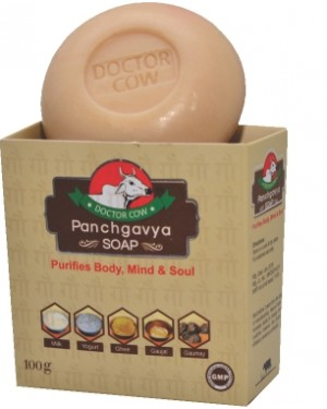 DR. COW Soap  Panchgavya  to Purifies Body, Mind & Soul