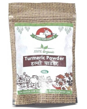 DR. COW Organic Haldi (Turmeric Powder)
