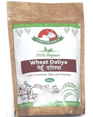DR. COW Organic Wheat Daliya